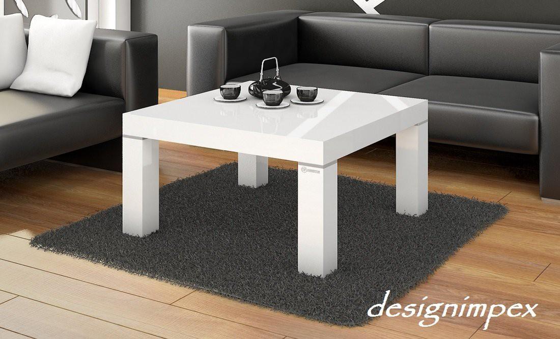 Design couchtisch h 222 wei hochglanz highgloss tisch for Design wohnzimmertisch hochglanz