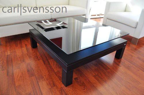 design couchtisch tisch v 570h schwarz get ntes glas carl svensson neu couchtische schwarze. Black Bedroom Furniture Sets. Home Design Ideas