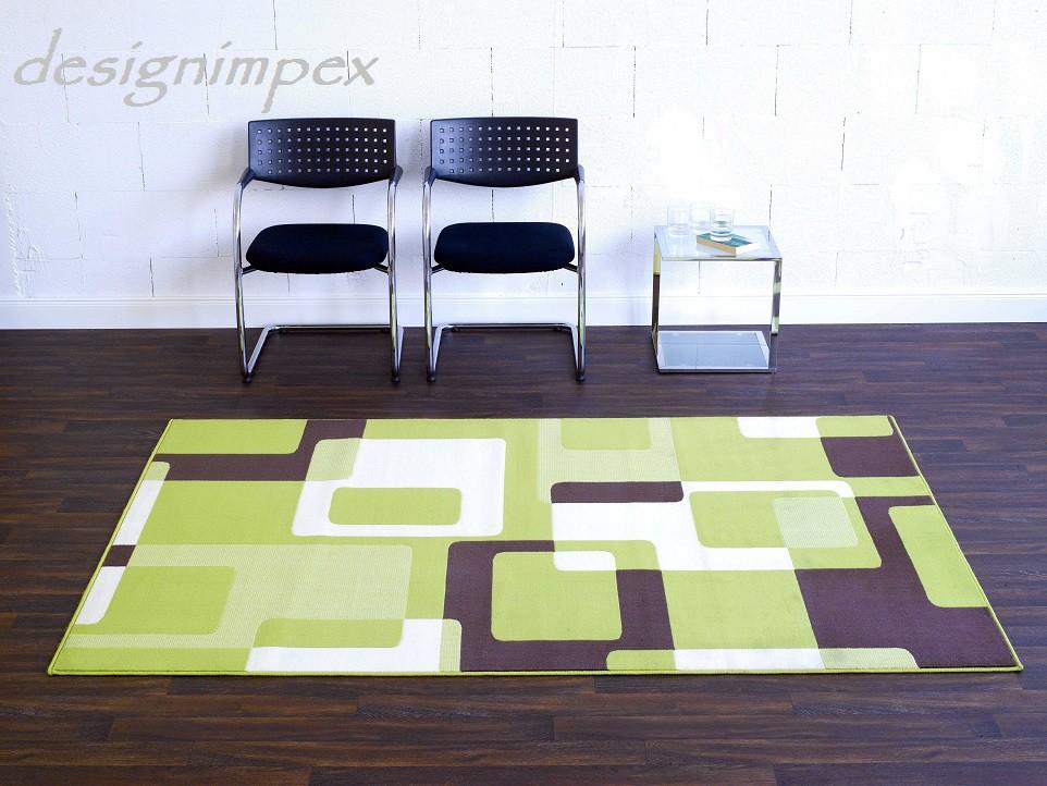 design teppich retro 160 x 230 cm gr n beige creme braun ut 14 neu teppiche design trend teppiche. Black Bedroom Furniture Sets. Home Design Ideas