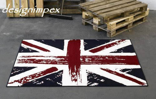 Trend Teppich 140 x 200 cm Union Jack England Flagge CM5