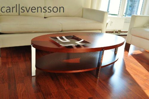 Design couchtisch o 111 kirschbaum oval carl svensson neu for Tisch design oval