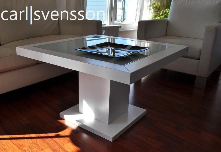 design couchtisch tisch s 360 wei milchglas carl svensson. Black Bedroom Furniture Sets. Home Design Ideas