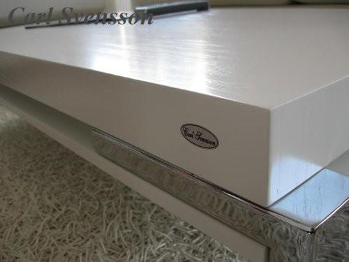 design couchtisch wei tisch wohnzimmertisch k 111 chrom. Black Bedroom Furniture Sets. Home Design Ideas