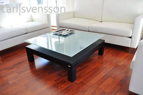 design couchtisch v 570h schwarz milchglas carl svensson neu couchtische schwarze couchtische. Black Bedroom Furniture Sets. Home Design Ideas