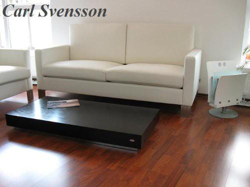 design couchtisch k 444 schwarz chrom carl svensson neu couchtische schwarze couchtische. Black Bedroom Furniture Sets. Home Design Ideas