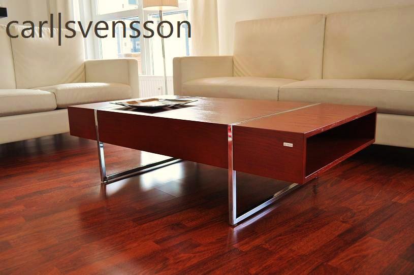 design couchtisch n 111 kirschbaum chrom tisch carl. Black Bedroom Furniture Sets. Home Design Ideas