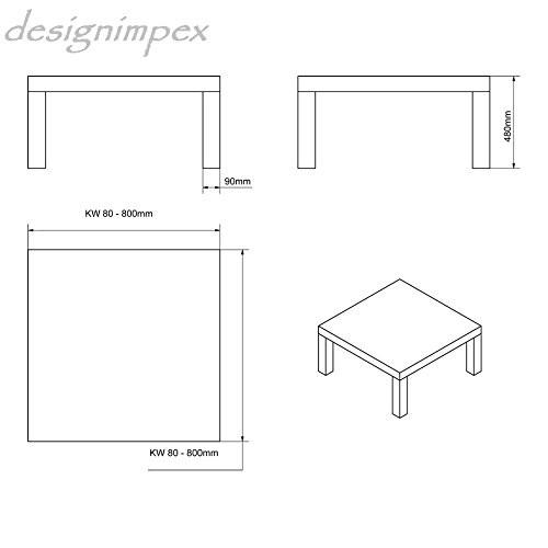Design couchtisch h 222 schwarz hochglanz highgloss tisch for Design wohnzimmertisch hochglanz