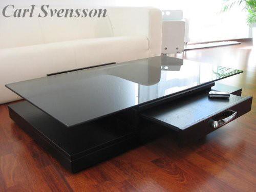 design couchtisch tisch v 470 schwarz get ntes glas carl svensson couchtische schwarze couchtische. Black Bedroom Furniture Sets. Home Design Ideas