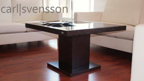 design couchtisch s 360 walnuss wenge get ntes glas carl svensson couchtische walnuss wenge. Black Bedroom Furniture Sets. Home Design Ideas