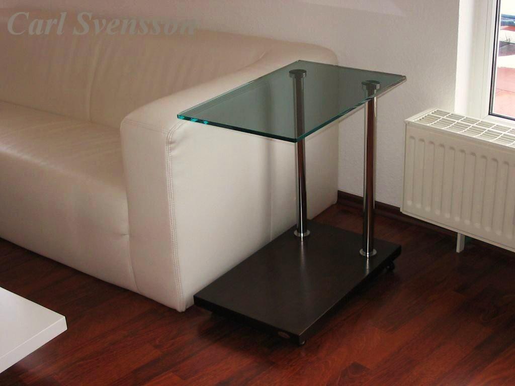 Design beistelltisch ecktisch walnuss wenge v 270 for Beistelltisch design glas
