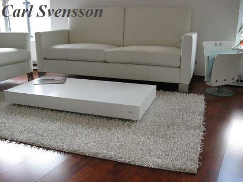 design couchtisch tisch k 444 wei chrom carl svensson neu. Black Bedroom Furniture Sets. Home Design Ideas