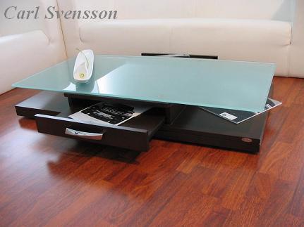design couchtisch tisch v 470 walnuss wenge milchglas. Black Bedroom Furniture Sets. Home Design Ideas