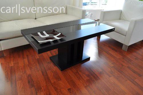 design couchtisch s 444 schwarz get ntes glas carl svensson tisch neu couchtische schwarze. Black Bedroom Furniture Sets. Home Design Ideas