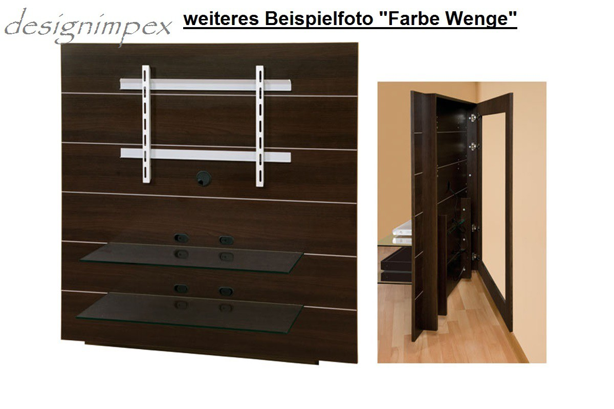 tv wand hn 111 wei hochglanz tv rack lcd inkl tv halterung hochglanzm bel tv m bel. Black Bedroom Furniture Sets. Home Design Ideas
