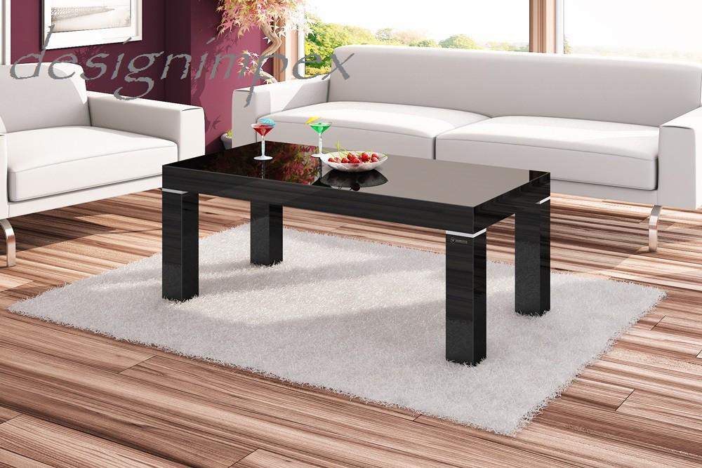 Design couchtisch hn 888 schwarz hochglanz highgloss tisch for Design wohnzimmertisch hochglanz