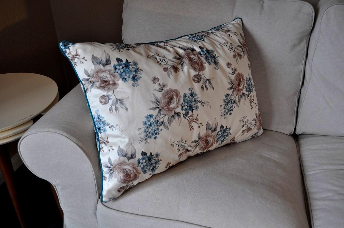 design dekokissen kissen mit f llung carl svensson t rkis. Black Bedroom Furniture Sets. Home Design Ideas