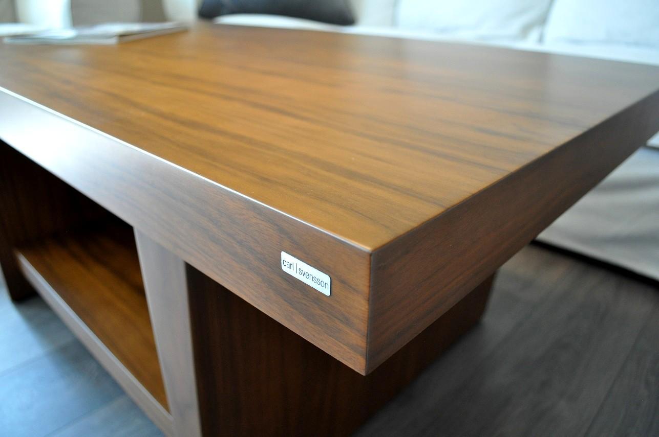 design couchtisch tisch t 111 walnuss nussbaum carl. Black Bedroom Furniture Sets. Home Design Ideas