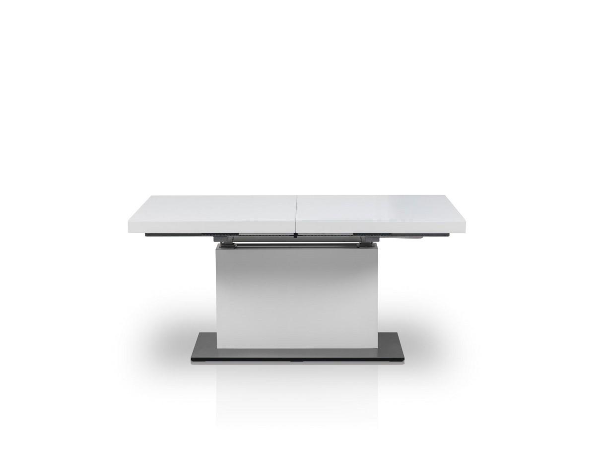couchtisch mn 3 wei seidenmatt wei glas h henverstellbar ausziehbar couchtische wei e couchtische. Black Bedroom Furniture Sets. Home Design Ideas