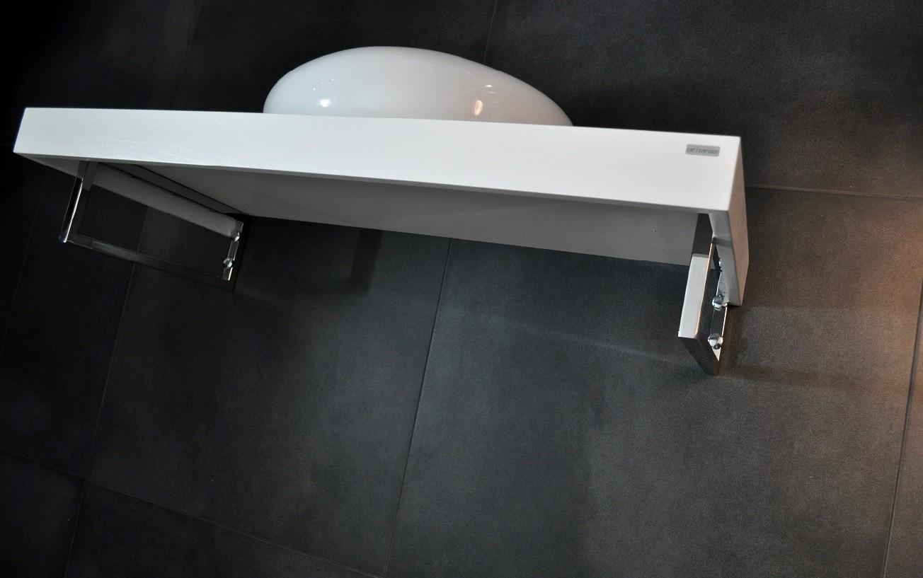 Edler waschtisch waschtischplatte waschkonsole wei wt 80 carl svensson accessoires waschtische - Waschtischplatte weiay ...