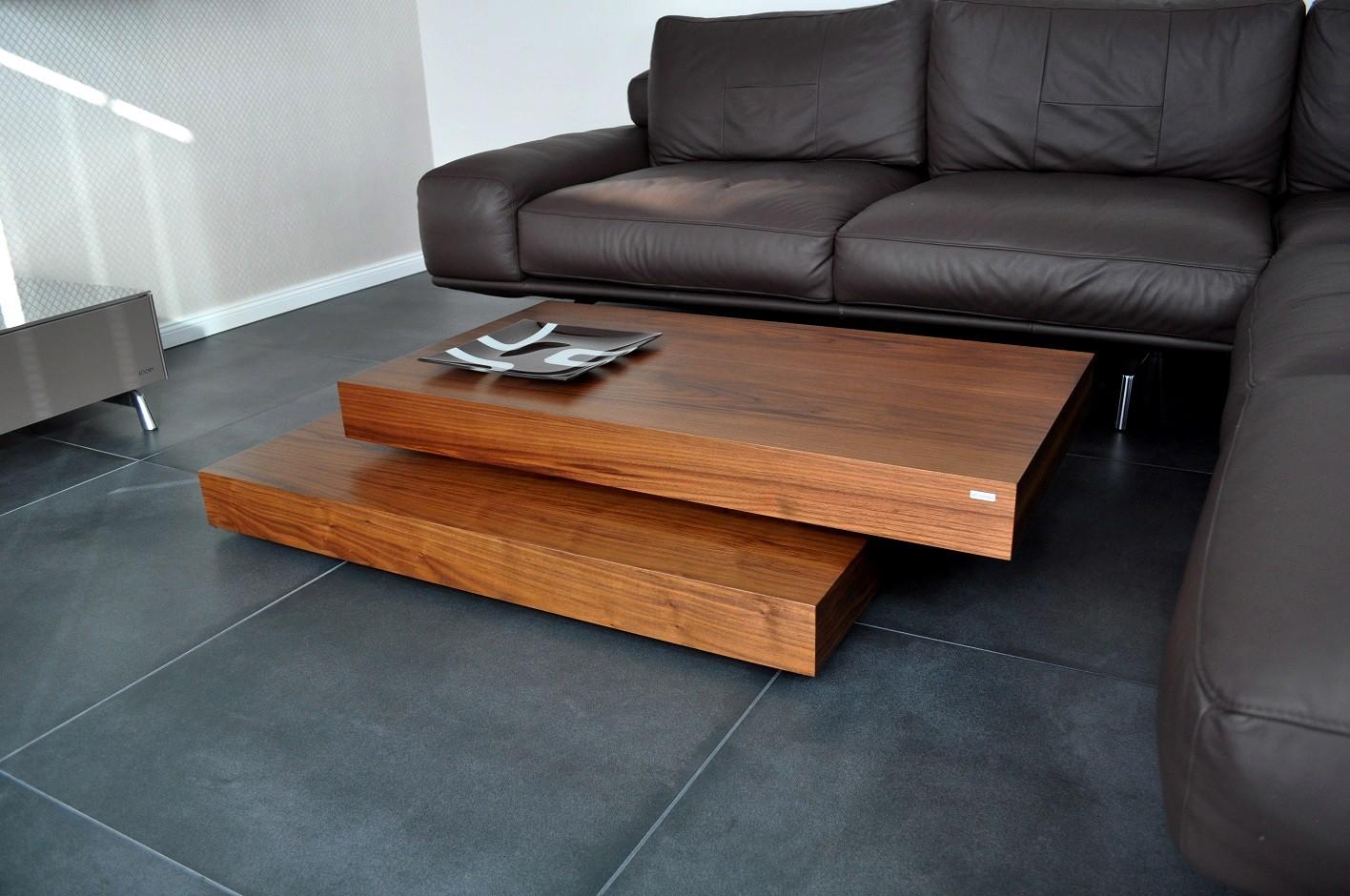 Design couchtisch tisch s 60 walnuss nussbaum carl for Design couchtisch s 360