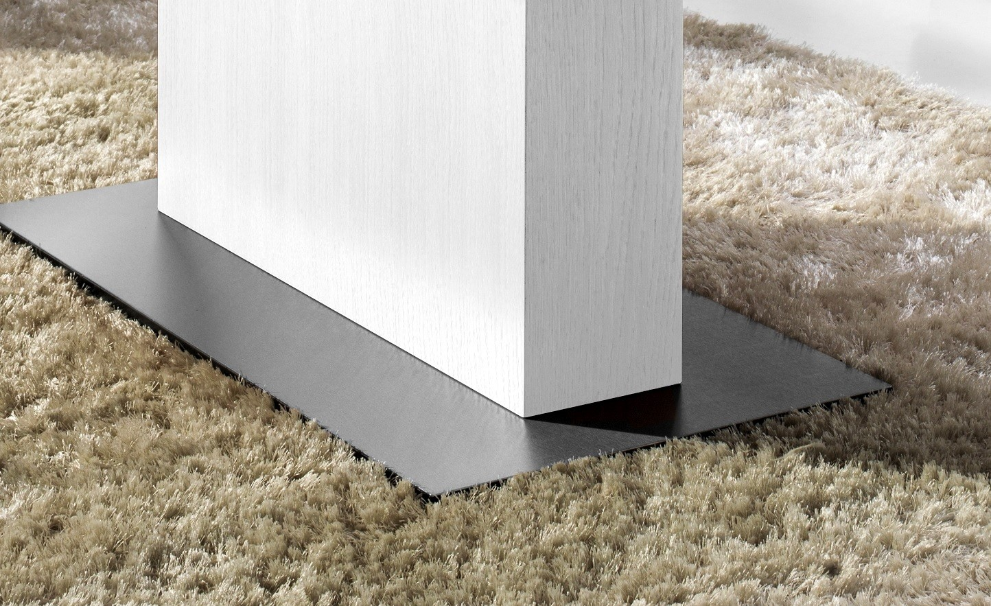 couchtisch mn 3 wei seidenmatt grauglas h henverstellbar. Black Bedroom Furniture Sets. Home Design Ideas
