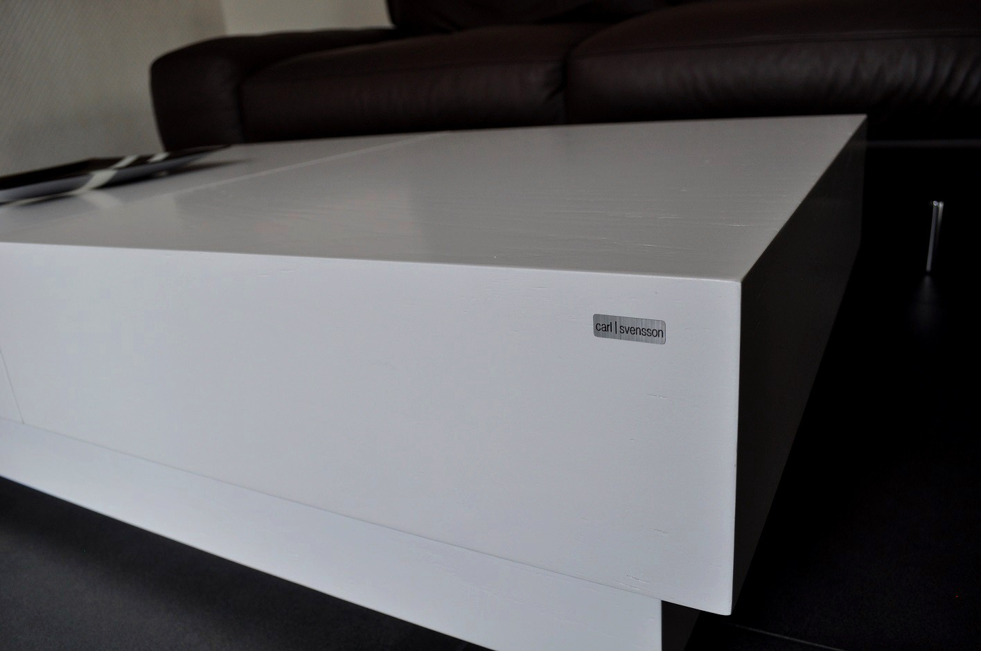 couchtisch wei carl svensson. Black Bedroom Furniture Sets. Home Design Ideas