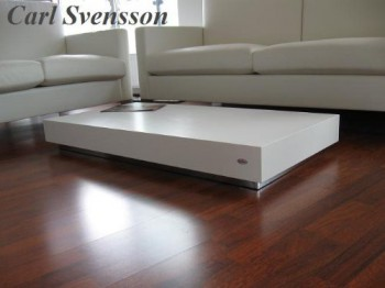 design couchtisch k 444 wei chrom carl svensson. Black Bedroom Furniture Sets. Home Design Ideas