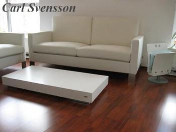 design couchtisch k 444 wei chrom carl svensson wohnzimmertisch ebay. Black Bedroom Furniture Sets. Home Design Ideas
