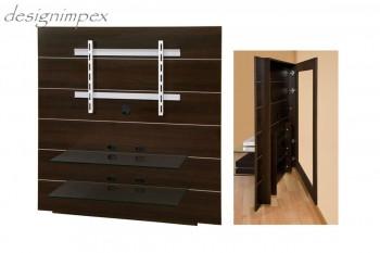 tv wand tv m bel hn 111 walnuss wenge tv rack lcd inkl tv. Black Bedroom Furniture Sets. Home Design Ideas