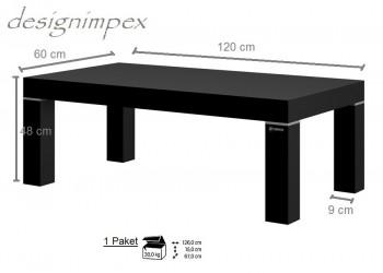 Design couchtisch hn 888 schwarz hochglanz highgloss tisch for Design couchtisch bowl highgloss