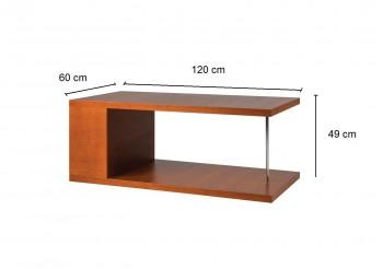 Hochwertiger design couchtisch wohnzimmertisch mn 4 for Wohnzimmertisch kirschbaum
