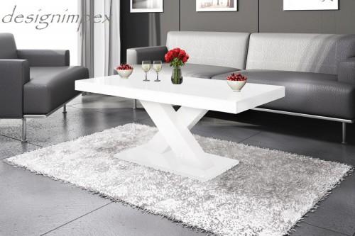 Design Couchtisch H888 Weiß Hochglanz Highgloss Tisch