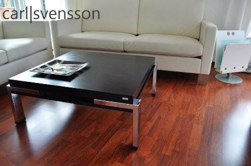 Design Couchtisch Carl Svensson K222 schwarz Chrom Tisch