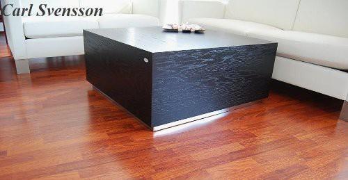 Design couchtisch tisch w 555 schwarz carl svensson neu for Design tisch schwarz