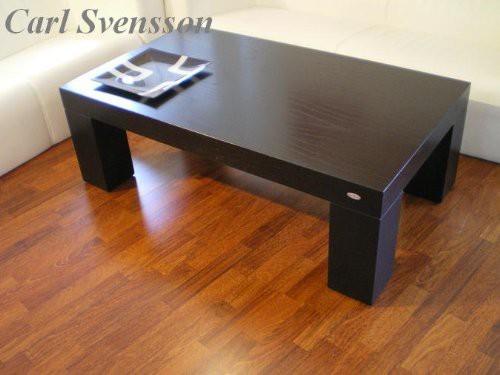 design couchtisch v 465 schwarz carl svensson tisch neu. Black Bedroom Furniture Sets. Home Design Ideas
