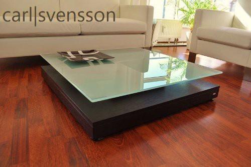 design couchtisch v 570 walnuss wenge milchglas carl svensson tisch. Black Bedroom Furniture Sets. Home Design Ideas