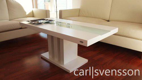Design couchtisch s 444 wei milchglas carl svensson tisch for Design couchtisch echtholz