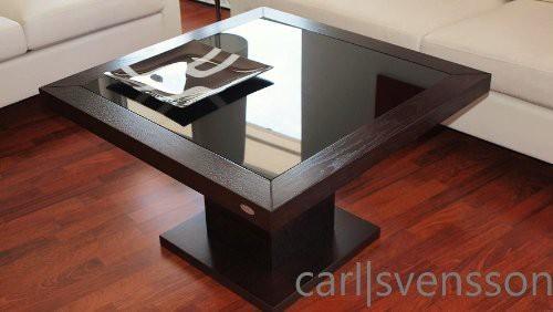 design couchtisch s 360 walnuss wenge get ntes glas carl svensson. Black Bedroom Furniture Sets. Home Design Ideas