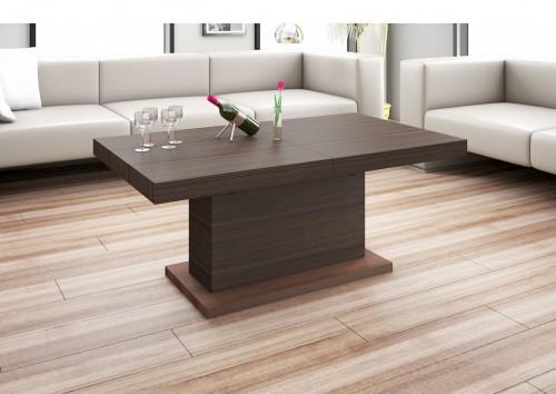 design couchtisch h 333 walnuss wenge nussbaum h henverstellbar ausziehbar. Black Bedroom Furniture Sets. Home Design Ideas