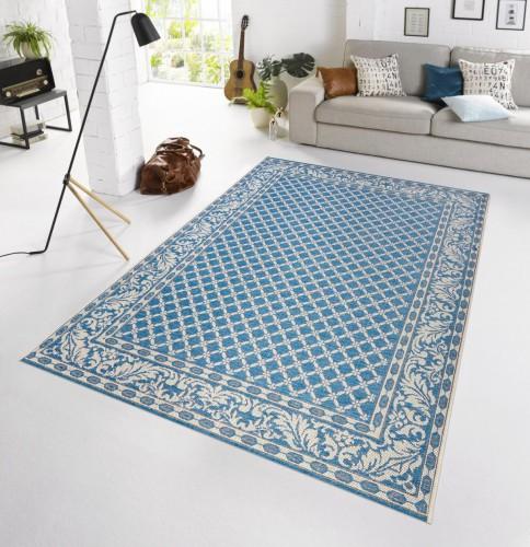 in outdoor teppich terrasse 160 x 230 cm royal blau od 1 ebay. Black Bedroom Furniture Sets. Home Design Ideas